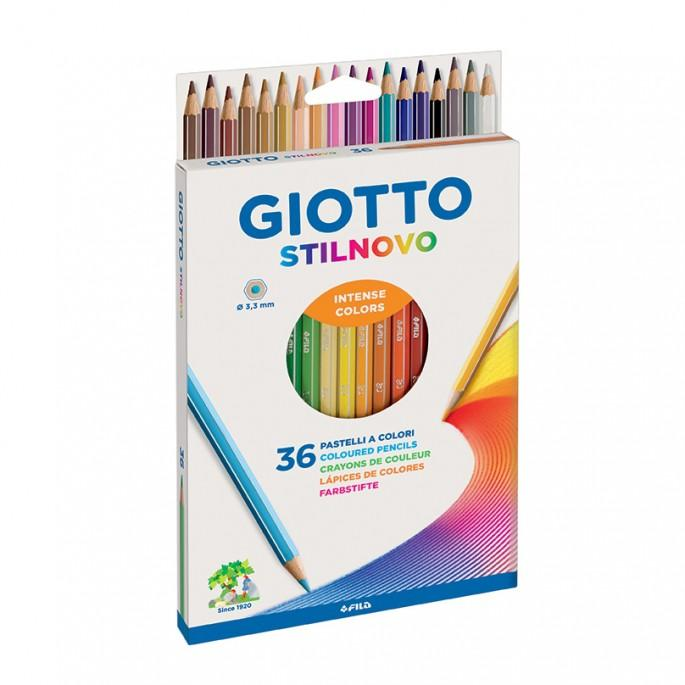 LAPICES DE COLOR GIOTTO X36 LARGOS - LAPICES - LAPICES COLOR